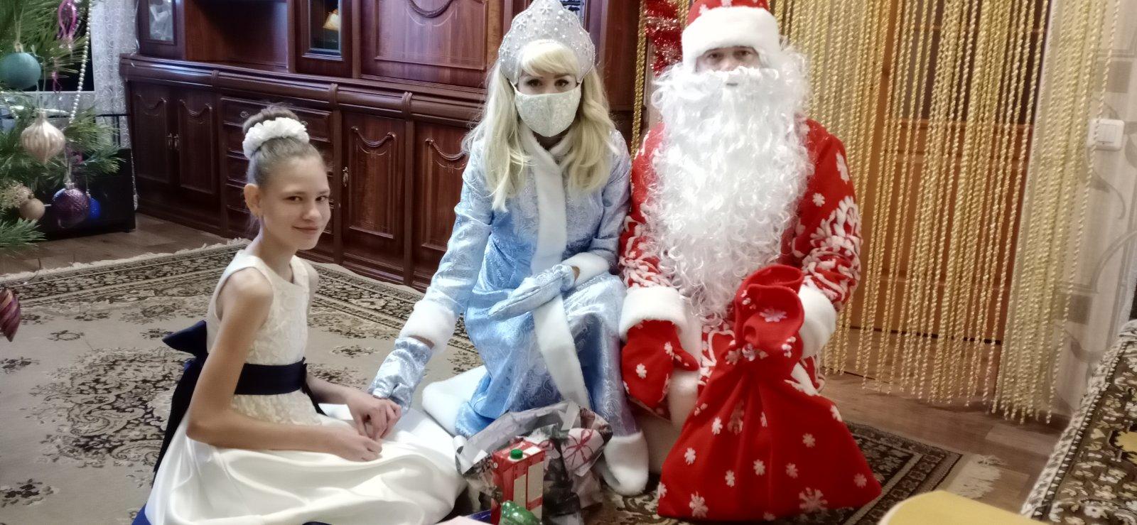 Новогодние подарки получили 43 семьи!