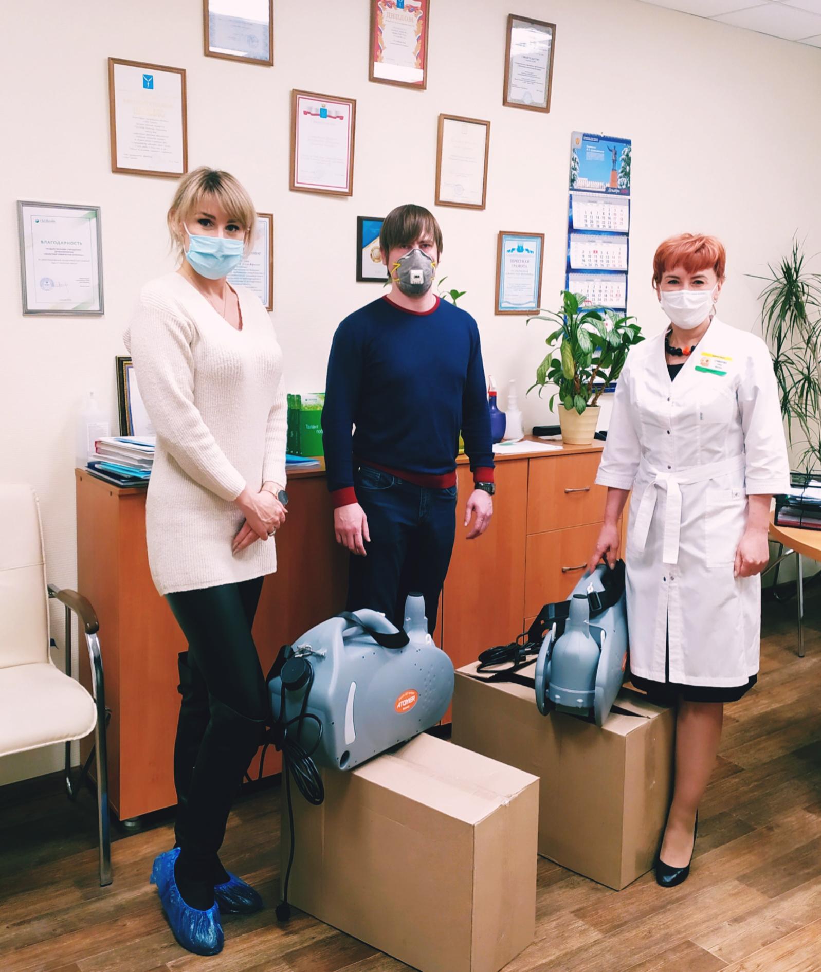 Добрые Взрослые помогают областной больнице!